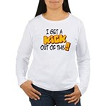 Kick Out of This Women's Long Sleeve T-Shirt