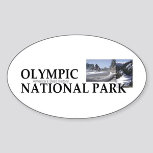 ABH Olympic NP Sticker (Oval)