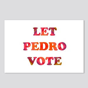 Let Pedro Vote Postcards (Package of 8)
