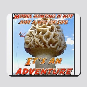 morel mountain products Mousepad