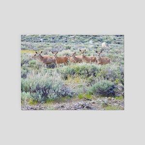 Eastern Sierra Herd 5'x7'Area Rug