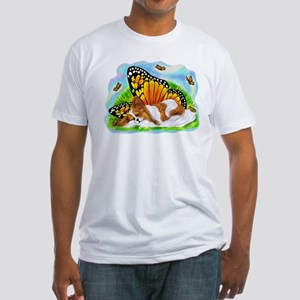 Papillon Mystical Monarch Fitted T-Shirt