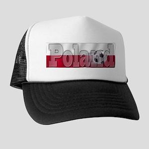 Soccer Flag Poland Trucker Hat