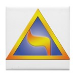 Masonic LoP 14th Tile Coaster