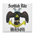 Scottish Rite Masons Tile Coaster