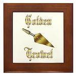Masonic Golden Trowel Award Framed Tile