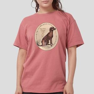 plott hound walks T-Shirt