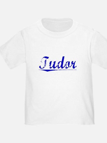 Tudor, Blue, Aged T-Shirt