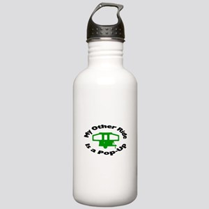 Pop-Up Stainless Water Bottle 1.0L