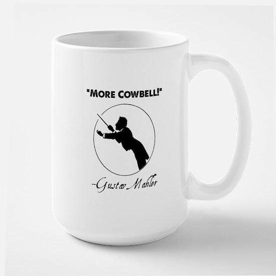 "Mahler ""More Cowbell!"" Redux Mugs"