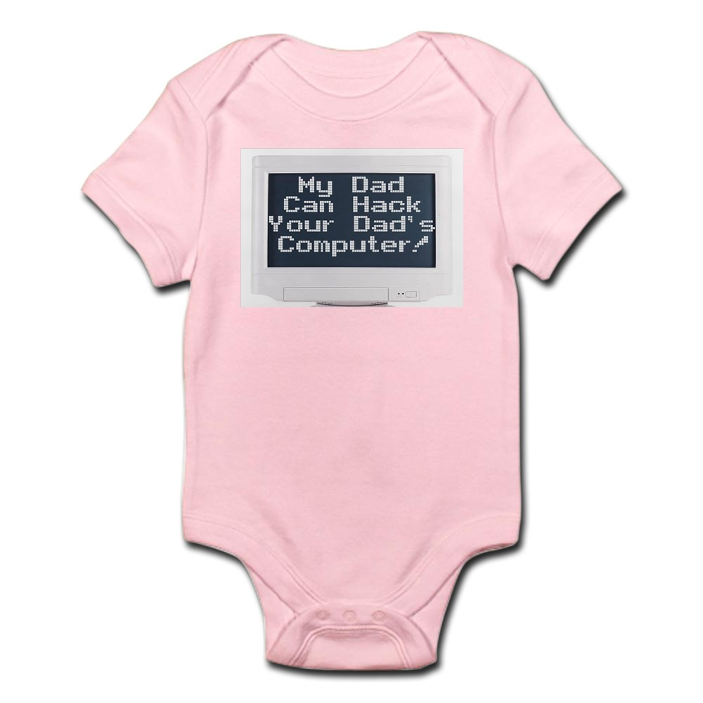CafePress-Hacker-Infant-Bodysuit-Cute-Infant-Bodysuit-Baby-Romper-133008497 thumbnail 14