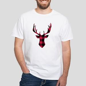 Winter Plaid Deer T-Shirt