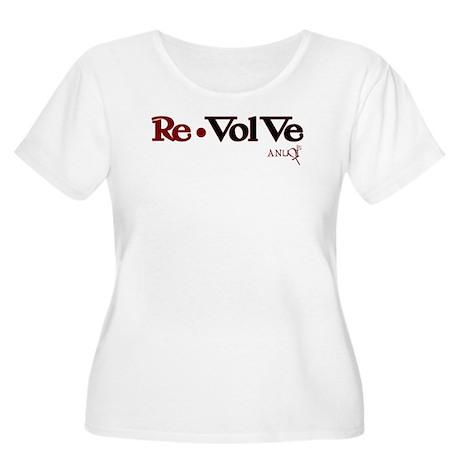 Re-VolVe Women's Plus Size Scoop Neck T-Shirt