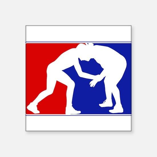 "Cute Major league Square Sticker 3"" x 3"""