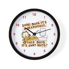 Garfield Just Nuts Wall Clock