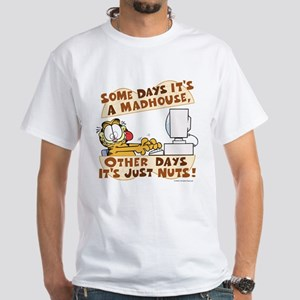 Garfield Just Nuts White T-Shirt