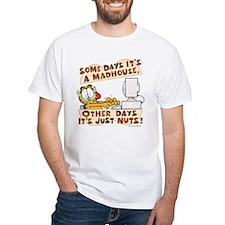 Garfield Just Nuts White T-Shirt