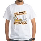 Garfield office Mens Classic White T-Shirts