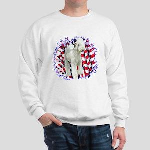 Bedlington Patriotic Sweatshirt
