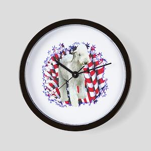 Bedlington Patriotic Wall Clock