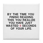 Lost Time Tile Coaster