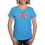 UNION JACK UK BRITISH FLAG Women's Dark T-Shirt