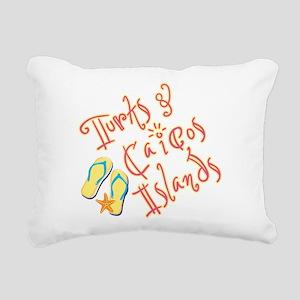 Turks and Caicos - Rectangular Canvas Pillow