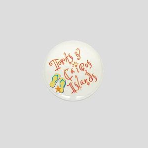 Turks and Caicos - Mini Button
