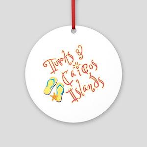 Turks and Caicos - Ornament (Round)
