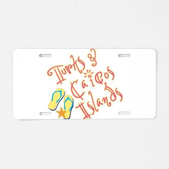 Turks and Caicos - Aluminum License Plate