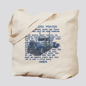 Trucker's Prayer Tote Bag