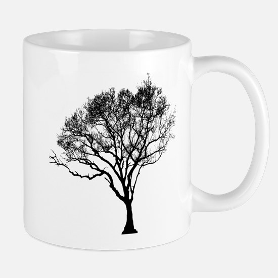 Black Tree Mugs