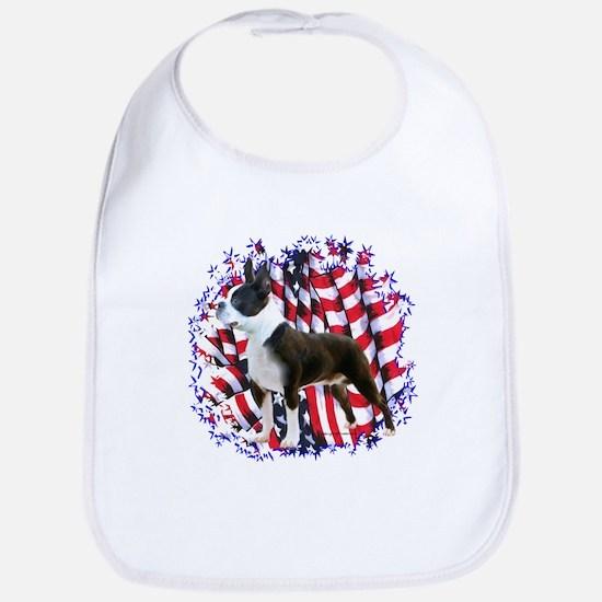 Boston Patriotic Bib