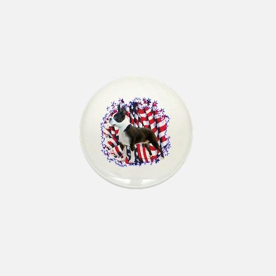 Boston Patriotic Mini Button