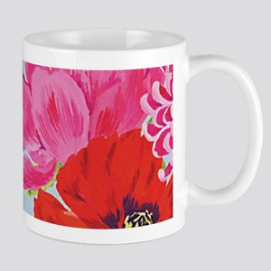 Pretty Pink Chic Cottage Roses Mugs