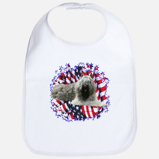 Bouvier Patriotic Bib
