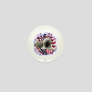 Bouvier Patriotic Mini Button