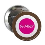 """Go FAGS! 2.25"""" Target Button (10 pack)"""