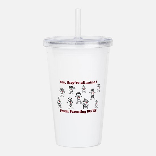 Foster care Acrylic Double-wall Tumbler