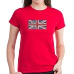 BRITISH UNION JACK (Old) Women's Dark T-Shirt