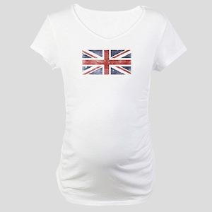 BRITISH UNION JACK (Old) Maternity T-Shirt
