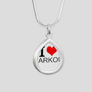 I Love Parkour Necklaces
