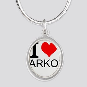 I Love Parkour Necklaces