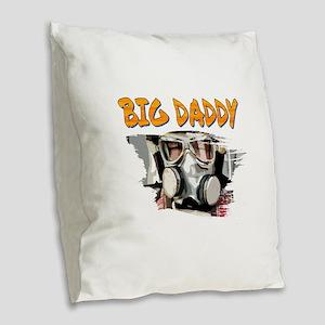 Big Daddy Burlap Throw Pillow