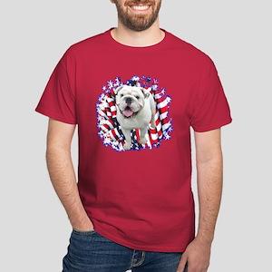 Bulldog Patriotic Dark T-Shirt