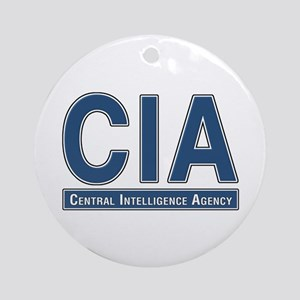 CIA - CIA Ornament (Round)