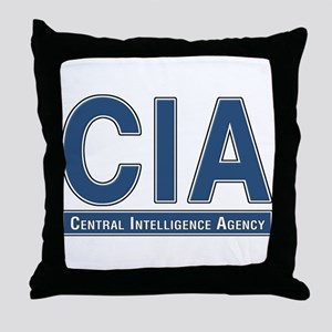 CIA - CIA Throw Pillow