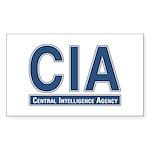 CIA - CIA Rectangle Sticker