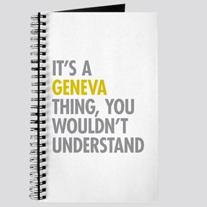Its A Geneva Thing Journal