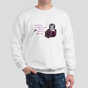 Shih Tzu (Black & White) Sweatshirt